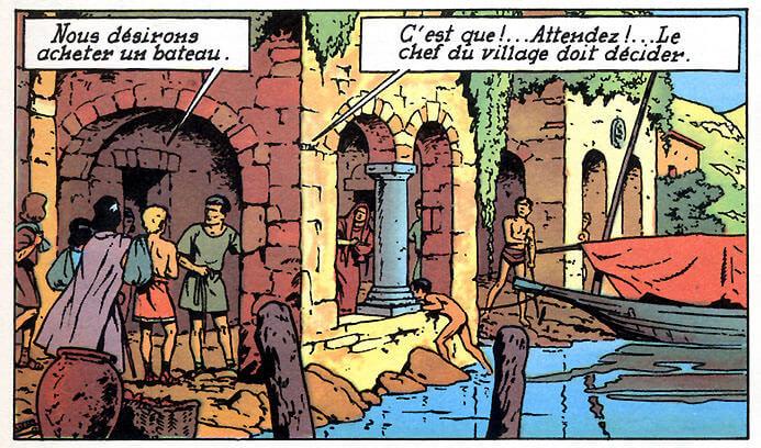 alix fils de spartacus bord du lac de Côme