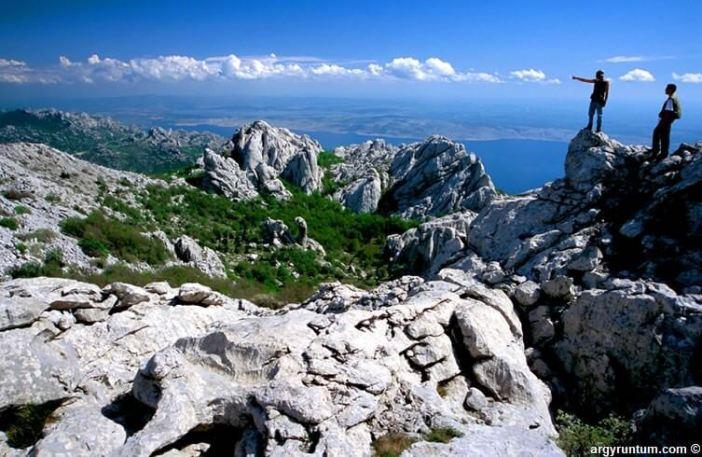 Parc national Paklenica randonnée et vue depuis les hauteurs