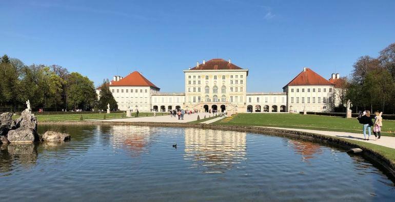 Chateau de Nymphenburg résidence estivale des rois de Bavière