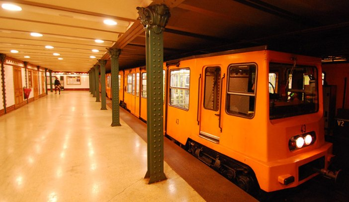 Budapest métro du millénaire aujourd'hui