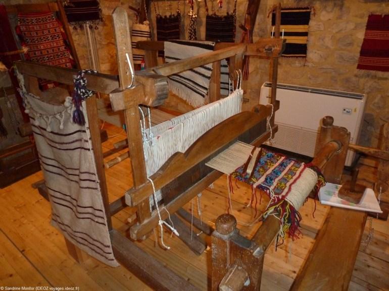 Ethnomusée de Krka à Roski Slap métiers à tisser