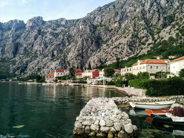Village de Ljuta sur le littoral Montenegrin près de Budva