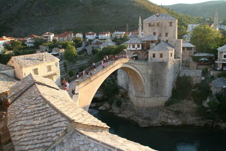 Nouveau vieux pont de Mostar