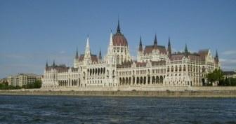 Parlement de Budapest en Hongrie