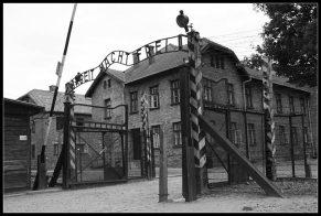 Camp de concentration d'Auschwitz Arbeit macht frei