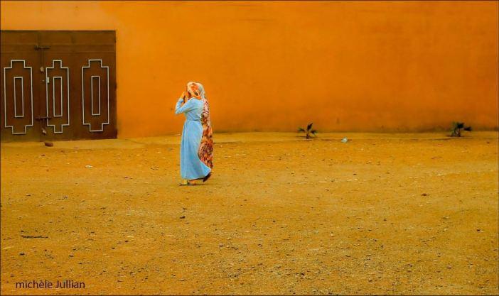 Femmes dans l'Atlas marocain