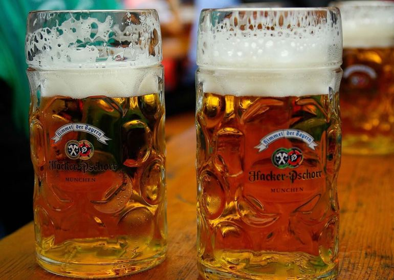 Hacker Pschorr Bière Märzen de l'Oktoberfest