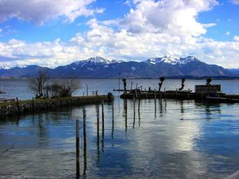 Lac Chiemsee Urschalling, Rott am Inn Wasserburg
