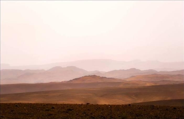 Paysages de l'Atlas au Maroc