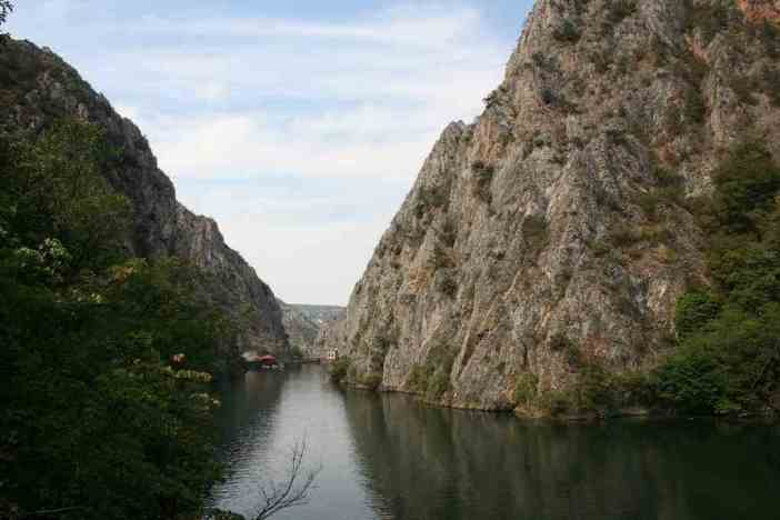 Lac Matka en Macédoine