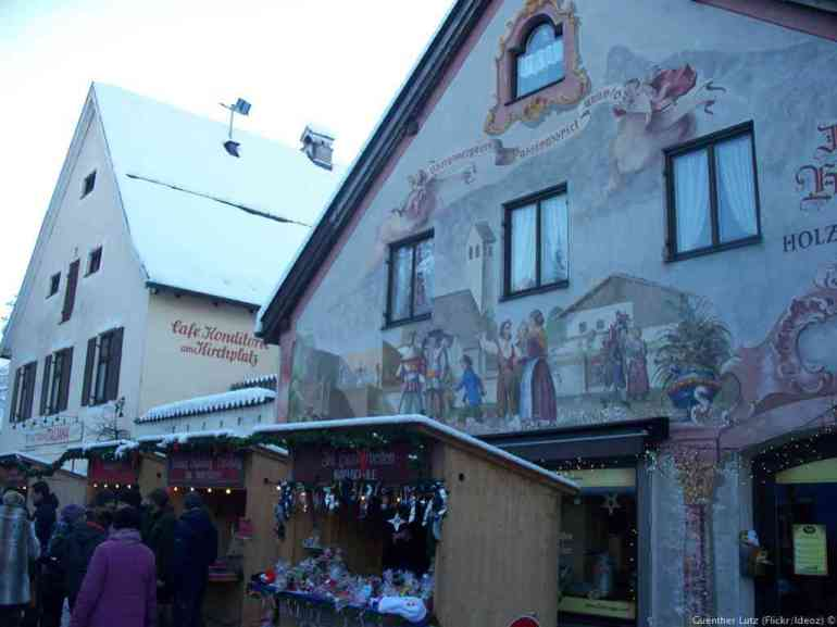 Marché de Noël Oberammergau Dorfstrasse