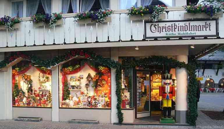 Oberammergau Käthe Wohlfahrt Christkindlmarkt