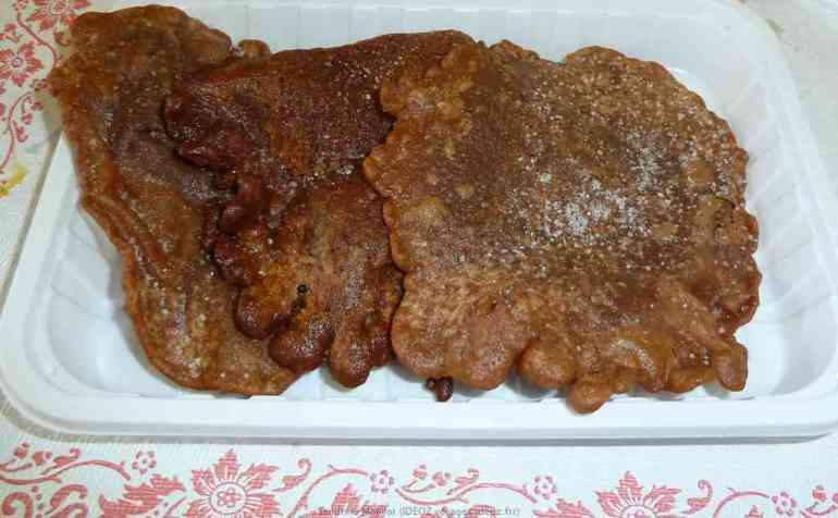 Torta di Marradi spécialité au marron de Marradi en Toscane