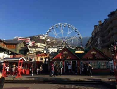 marché de noel de montreux en suisse