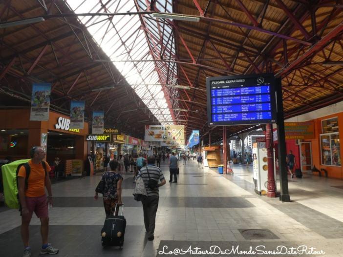 Gare de train roumaine