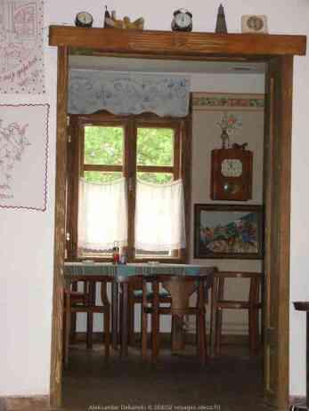 Krcedin restaurant cave en serbie