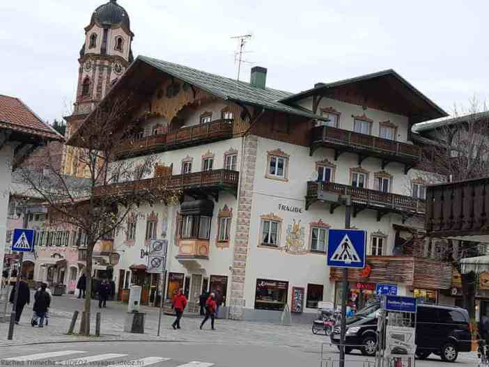 Mittenwald en Bavière