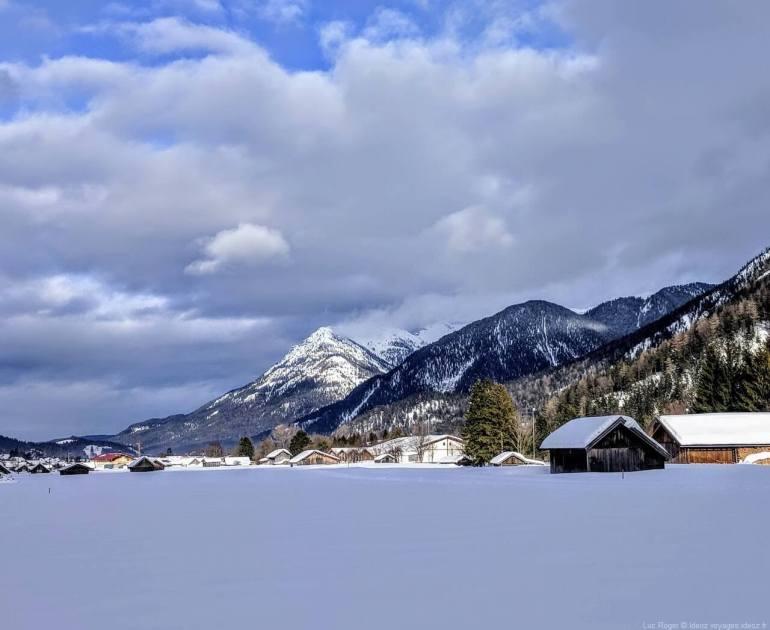 Mittenwald Riedboden en hiver (1)