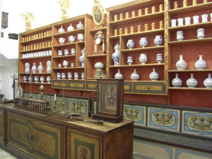 ljerkarna Male Brace Pharmacie des franciscains à Dubrovnik