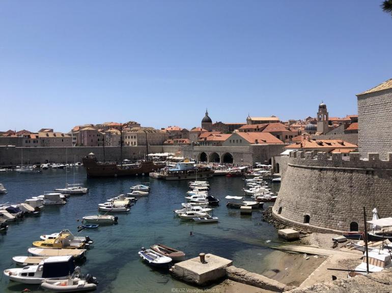 Port de Ploce à Dubrovnik