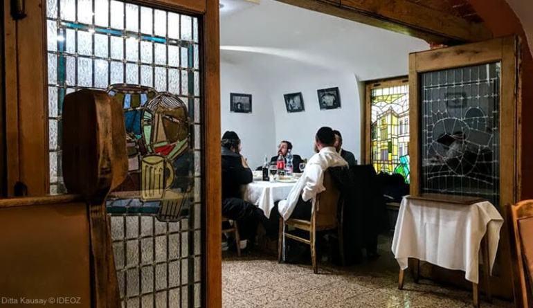 budapest dîner casher dans un restaurant du quartier juif