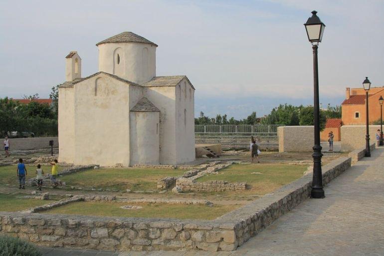 église sainte croix de Nin en dalmatie (1)