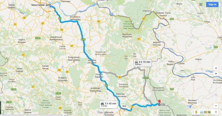 Randonnée à Stara Planina, sur la via dinarica voie verte en Serbie 14