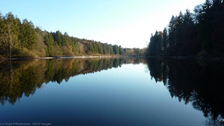 lac ammersee en haute bavière (oberbayern)