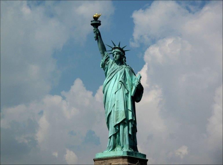 new york la statue de la liberté