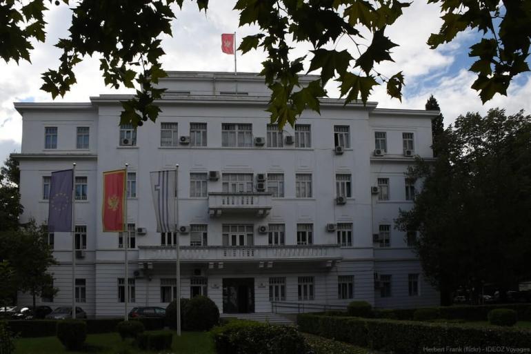 parlement du montenegro à podgorica