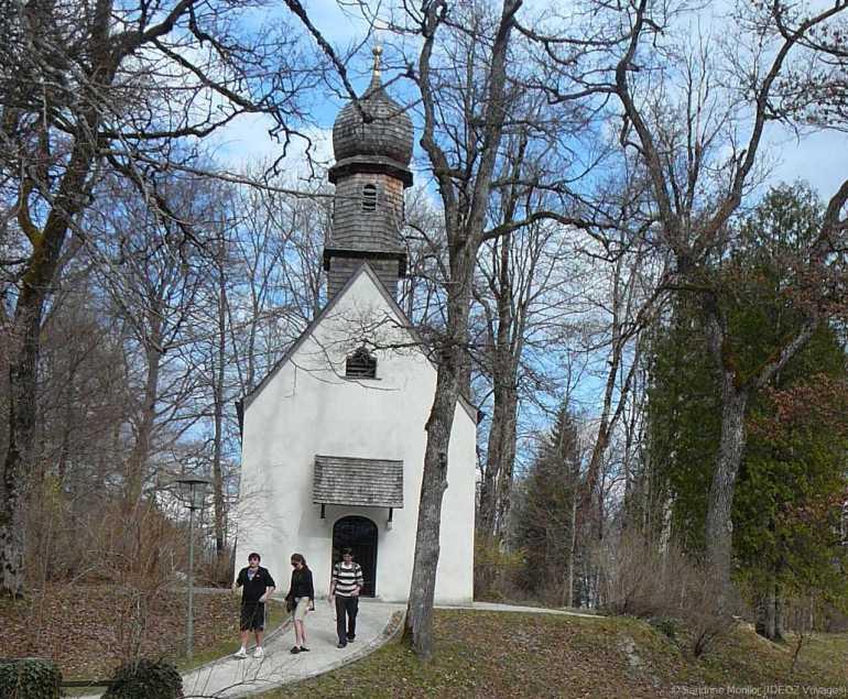 chapelle de Louis ii de bavière à Linderhof