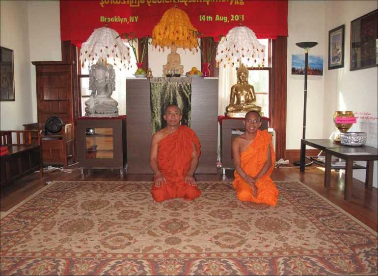 moines bouddhistes à brooklyn