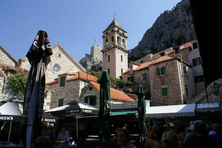 centre ancien d'omis en dalmatie centrale