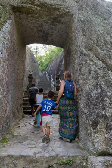 Gunung Kawi : 400 marches à remonter ... dur dur !!!