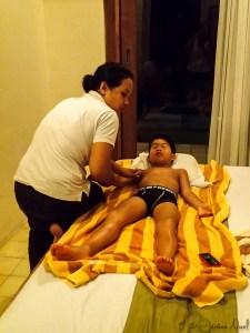 Ubud - massage Luka