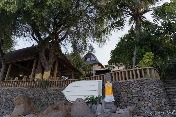 Amed - Hotel depuis la plage