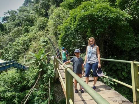 Sekumpul - sur le pont