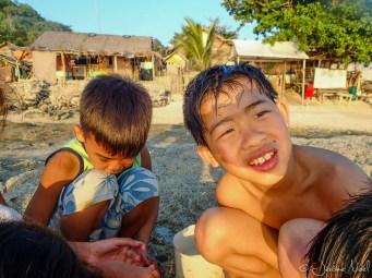 Apo Island - Luka et Patrick