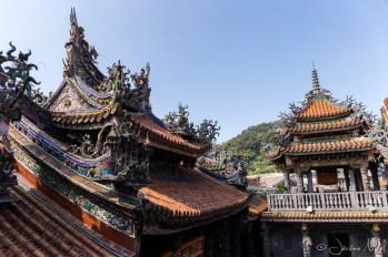 Qingshui Zushi Temple - Toits