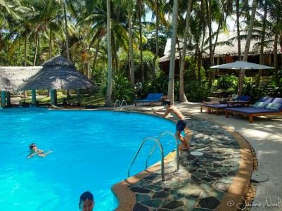 Siquijor - Coco Grove Beach Resort - piscine