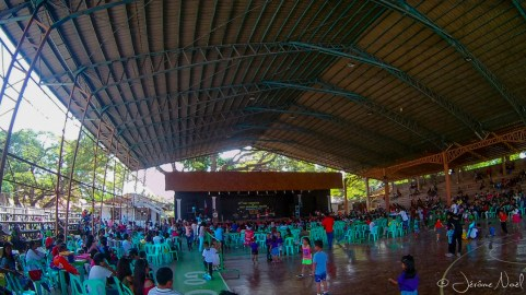 Siquijor - Lazi - rassemblement scolaire