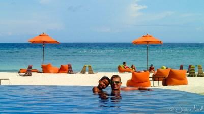 Palm South Resort - piscine et mer