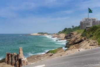 Depuis le Forte de Copacabana