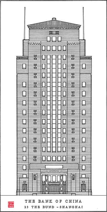 Bank of China Building (1936), N°23 Le Bund, Shanghai