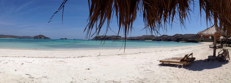 Plage Tanjung Aan, Lombok, Indonésie