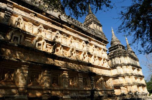 La pagode Mahabodhi, unique à Bagan et en Birmanie