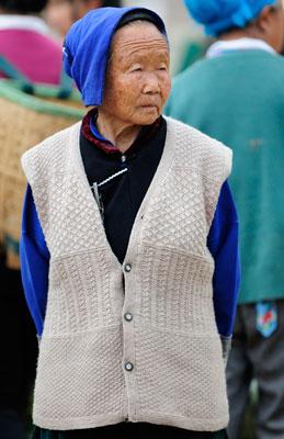 Le pittoresque marché de Shaping (Shāpíng 沙坪), à 30km au nord de Dali (Dàlǐ 大理), Yunnan (Yúnnán 云南)