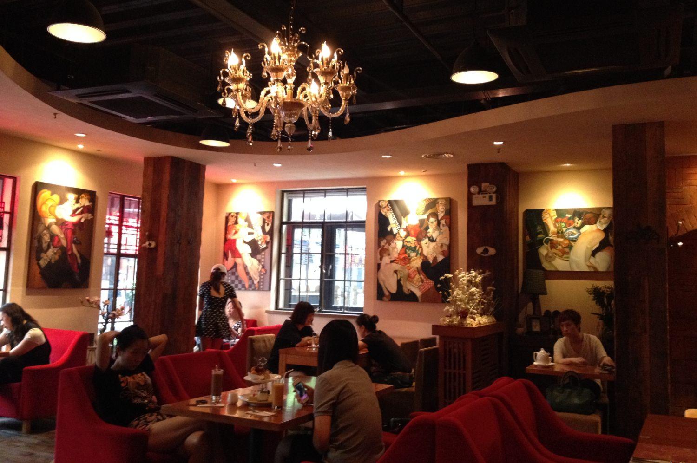 Restaurant Brick, Sinan Lu, Shanghai