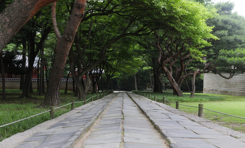 Le Sanctuaire Jongmyo (종묘), Séoul, Corée du Sud