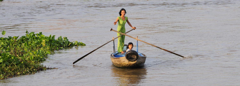 Delta du Mékong, Vietnam